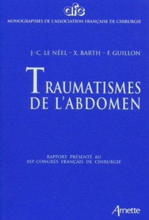 Traumatismes de l'abdomen - arnette - 9782718410197 -