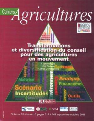 Transformations et diversification du conseil pour des agricultures en mouvement - john libbey eurotext - 9782742008230 -