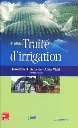 Traité d'irrigation - lavoisier / tec et doc - 9782743009106