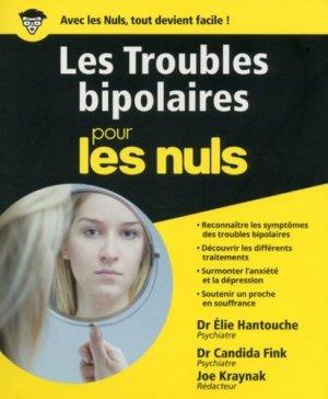 Troubles bipolaires pour les nuls - first  - 9782754084673 -