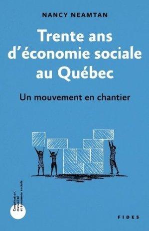 Trente ans d'économie sociale au Québec - fides - 9782762143768 -