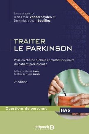 Traiter le parkinson - de boeck superieur - 9782804162597 - majbook ème édition, majbook 1ère édition, livre ecn major, livre ecn, fiche ecn