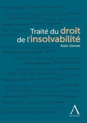 Traité du droit de l'insolvabilité - Anthemis - 9782807205963 -