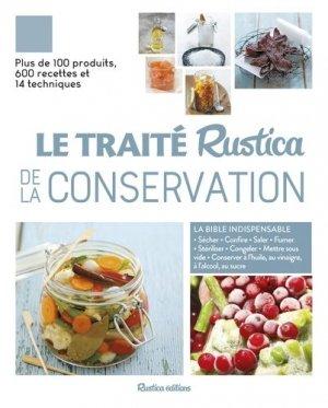 Traité rustica de la conservation - rustica - 9782815314138