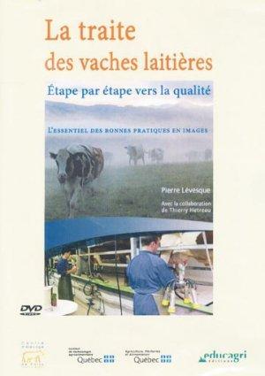 Traite des vaches laitieres - educagri - 9782844446183 -