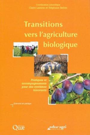 Transitions vers l'agriculture biologique - educagri / quae - 9782759205028