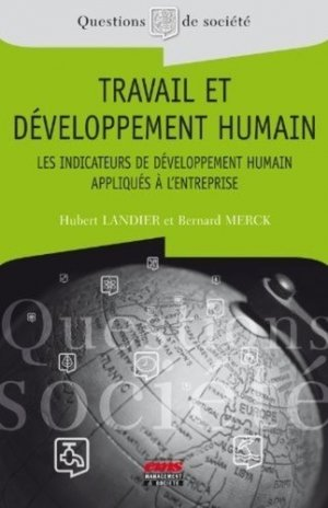 Travail et développement humain - ems - 9782847695106 -