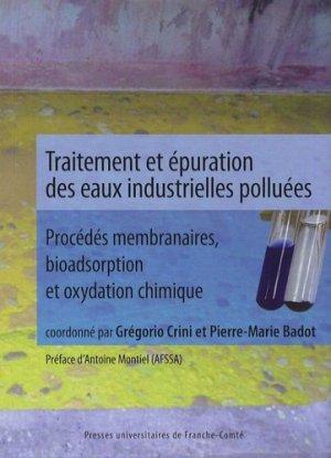 Traitement et épuration des eaux industrielles polluées - presses universitaires de franche-comté - 9782848671970 -