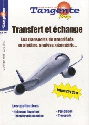 Transfert et échange - POLE Production et organisation du loisir éducatif - 9782848841762 -