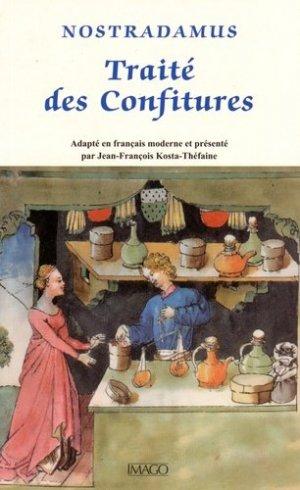 Traité des confitures - Imago (éditions) - 9782849528327 -