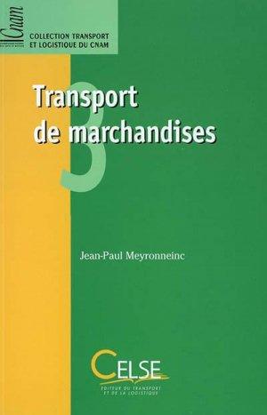 Transport de marchandises - celse - 9782850092329 -