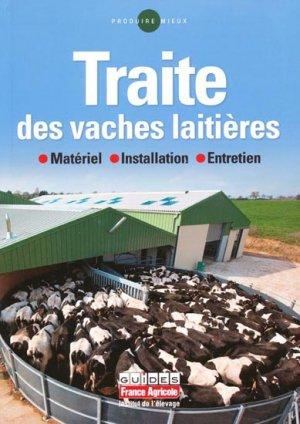 Traite des vaches laitières - france agricole - 9782855571638 -