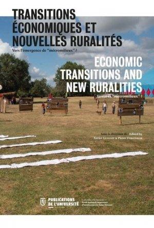Transitions économiques et nouvelles ruralités. Vers l'émergence de
