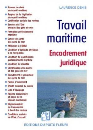 Travail maritime - puits fleuri - 9782867396373 -