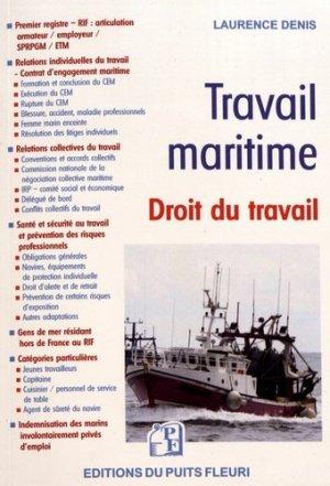 Travail maritime - puits fleuri - 9782867396380 -