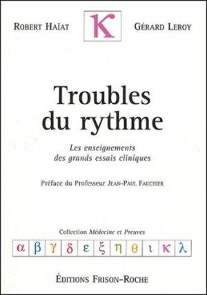 Troubles du rythme - frison roche - 9782876714335 -