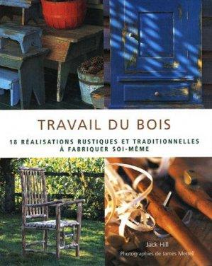 Travail du bois - soline - 9782876775121 -