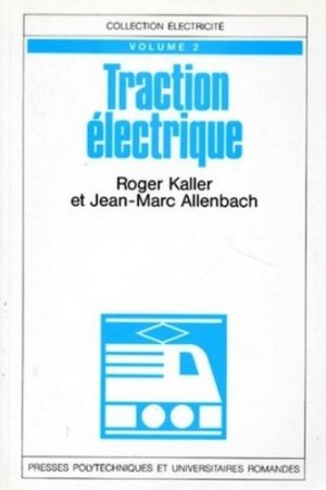 Traction électrique - PPUR - 9782880742751 -