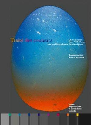Traité des couleurs - presses polytechniques et universitaires romandes - 9782880748685 -