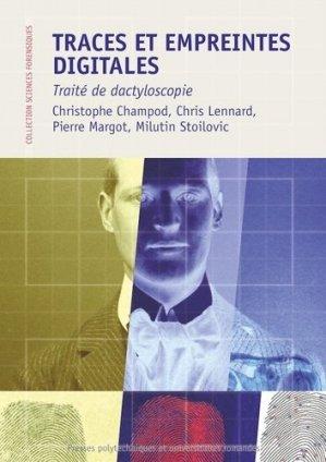 Traces et empreintes digitales - presses polytechniques et universitaires romandes - 9782889151837