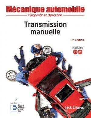 Transmission manuelle - Reynald Goulet - 9782893774473 -