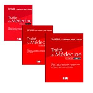 Traité de Médecine - Pack 3 Tomes - tdm editions - 9782901094005 -