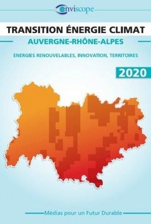 Transition énergie climat Auvergne-Rhône-Alpes - Média pour un futur durable - 9782956854227 -