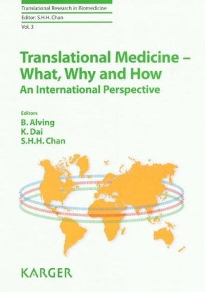 Translational Medicine - What, Why and How - karger  - 9783318022841 -