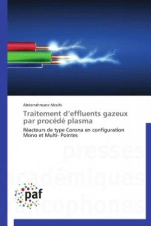 Traitement d'effluents gazeux par procédé plasma - presses académiques francophones - 9783841623331 -