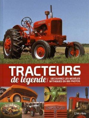 Tracteurs de légende - de l'imprevu - 9791029501494 -