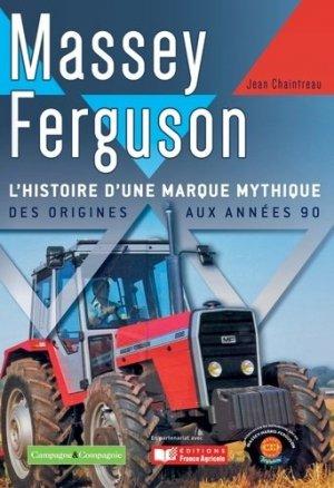 Tracteurs Massey Fergusson - campagne et compagnie - 9791090213289 -
