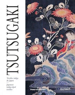 Tsutsugaki. Textiles indigo du Japon, Edition bilingue français-anglais - hermann - 9782705687359 -