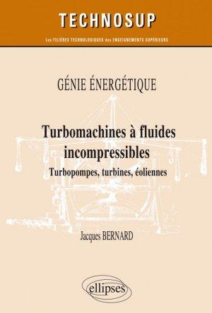 Turbomachines à fluides incompressibles - ellipses - 9782340035867 -