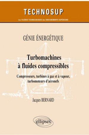 Turbomachines à fluides compressibles - Ellipses - 9782340042261 -