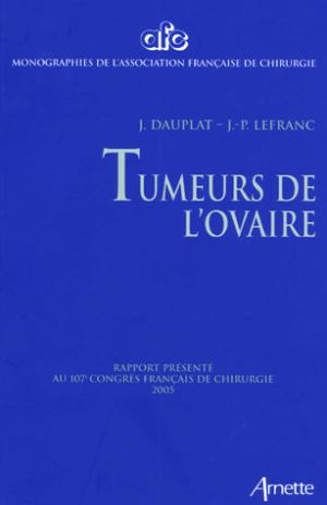 Tumeurs de l'ovaire - arnette - 9782718411149 -