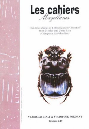 Two new species of Coprophanaeus Olsoufieff from Mexico and Costa Rica - magellanes - 9782353870240 -