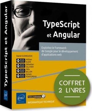 TypeScript et Angular - Coffret de 2 livres : Exploitez le framework de Google pour le développement - eni - 9782409027208 -