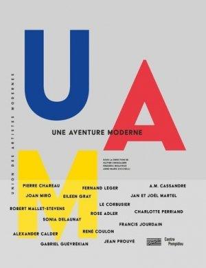 UAM, une aventure moderne - Bibliothèque publique d'information du Centre Pompidou - 9782844268228 -