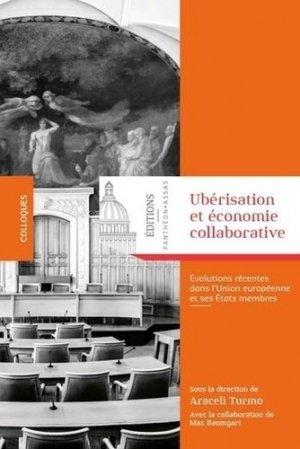 Ubérisation et économie collaborative - pantheon assas - 9782376510277 -