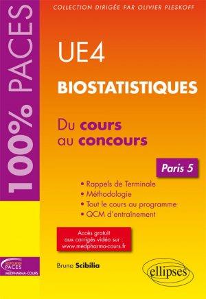 UE4 - Biostatistiques (Paris 5) - ellipses - 9782340013681 - livre paces 2020, livre pcem 2020, anatomie paces, réussir la paces, prépa médecine, prépa paces