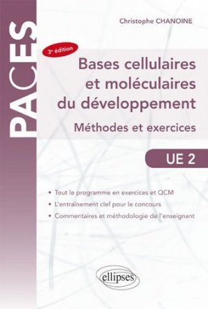 ue2 bases cellulaires et moleculaires du developpement methodes et exercices - ellipses - 9782340013780 -