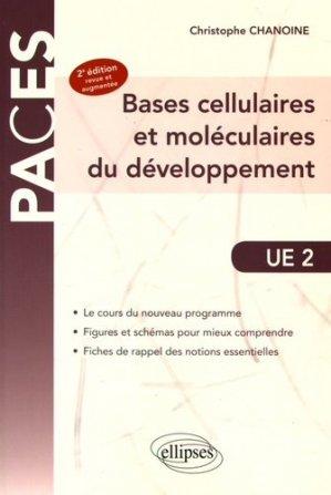 UE2 - Bases cellulaires et moléculaires du développement - ellipses - 9782340013797 -