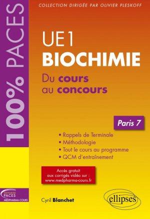 UE1 biochimie paris 7 - ellipses - 9782340021013 -