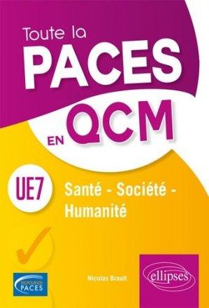 UE7 Santé, Société, Humanité - ellipses - 9782340022515 -