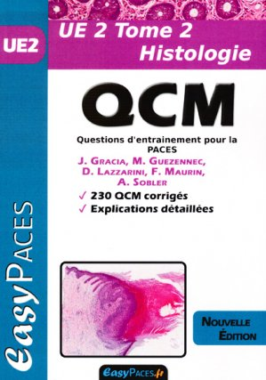 UE 2 Tome 2 Histologie QCM-easy paces-9782372810180