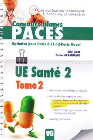 UE Santé 2 Tome 2 - vernazobres grego - 9782818305850 -