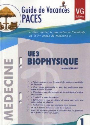 UE3 Biophysique - vernazobres grego - 9782818306017