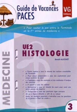 UE2 Histologie - vernazobres grego - 9782818306079 -