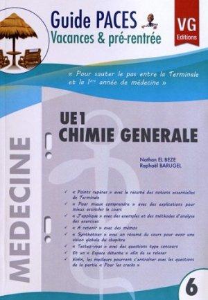 UE1 Chimie générale - vernazobres grego - 9782818306307