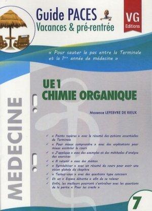 UE1 Chimie organique - vernazobres grego - 9782818306314